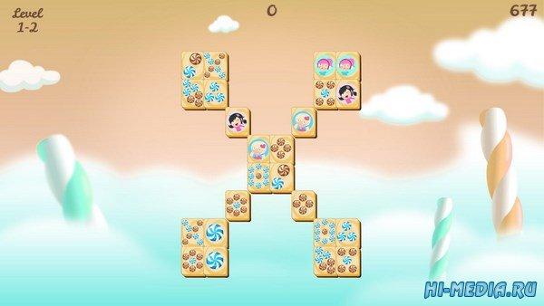 Sweet Candy Mahjong (2016) ENG