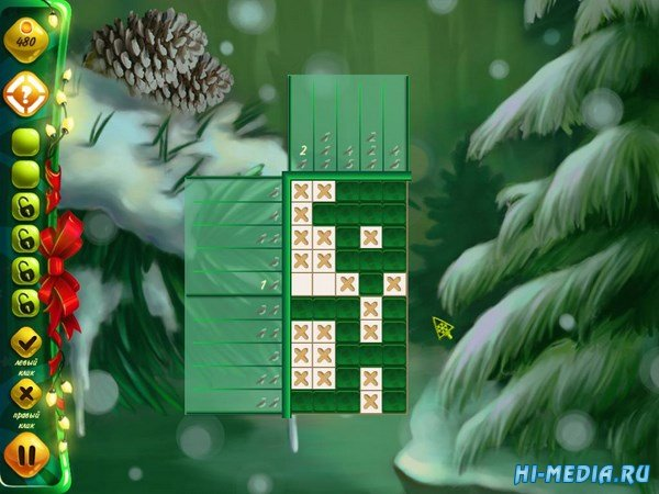 Фабрика Деда Мороза: Нонограммы (2016) RUS