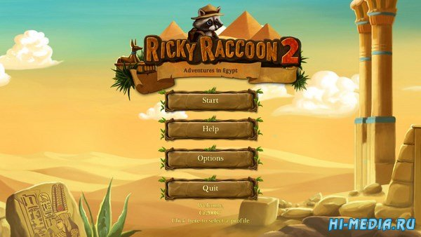 Ricky Raccoon 2: Adventures in Egypt (2016) ENG