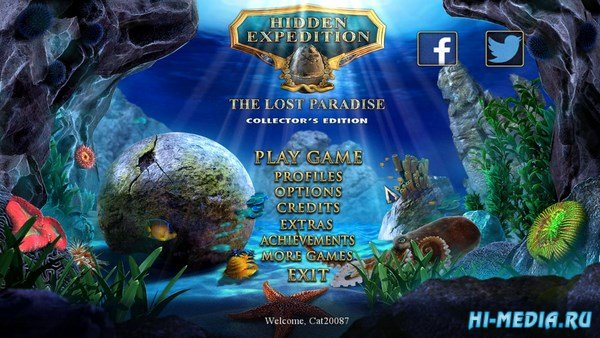Hidden Expedition 13: The Lost Paradise Collectors Edition (2016) ENG