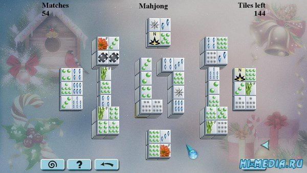 Winter Mahjong (2017) ENG