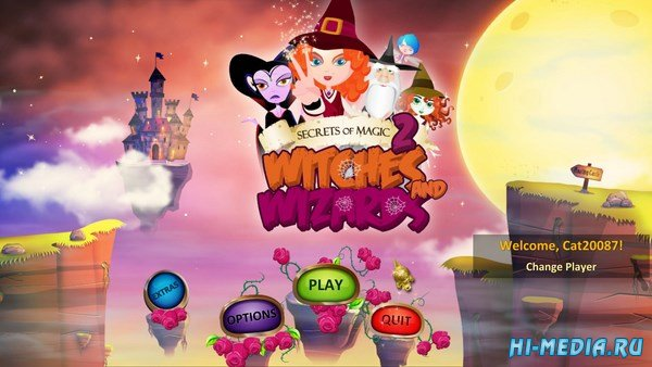 Secrets of Magic 2: Witches and Wizards (2017) ENG