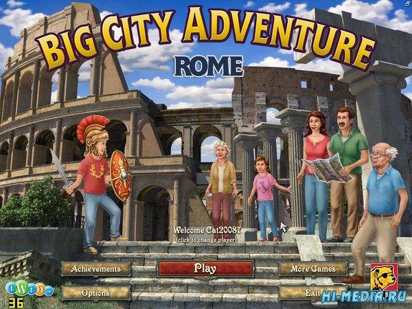 Big City Adventure 12: Rome (2017) ENG