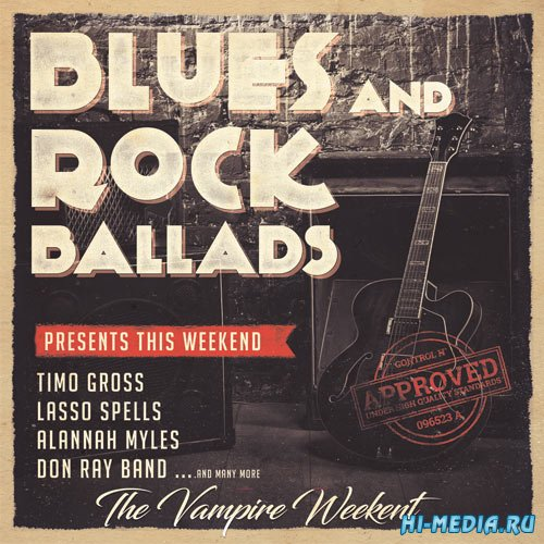 Blues and Rock Ballads (2017)