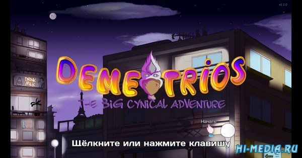 Demetrios: The Big Cynical Adventure (2016) RUS