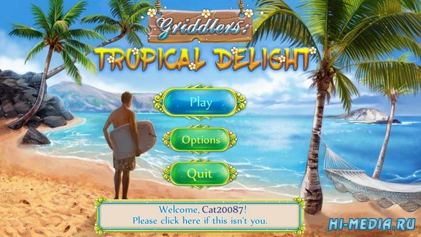 Griddlers: Tropical Delight (2017) ENG