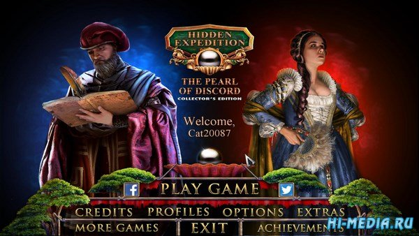 Hidden Expedition 14: The Pearl of Discord Collectors Edition (2017) ENG