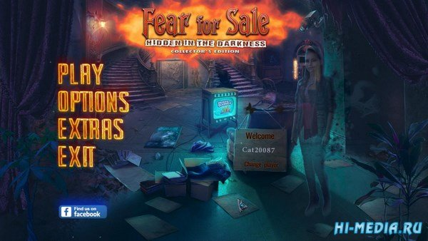 Fear For Sale 10: Hidden in the Darkness Collectors Edition (2017) ENG