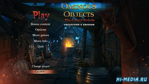 Ominous Objects 5: The Cursed Guards Collectors Edition (2017) ENG