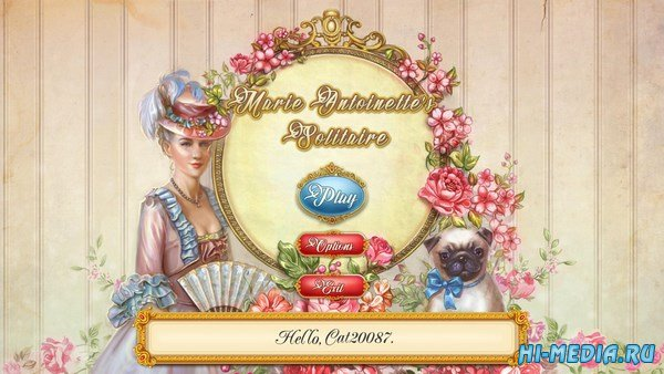 Marie Antoinettes Solitaire (2017) ENG