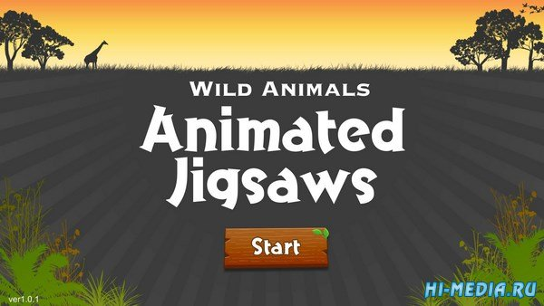 Wild Animals: Animated Jigsaws (2016) ENG