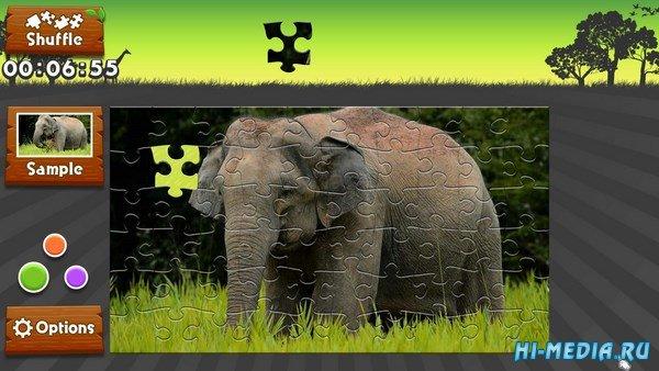 Wild Animals: Animated Jigsaws (2016) ENG