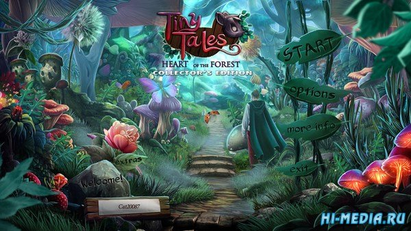 Tiny Tales: Heart of the Forest Collectors Edition (2017) ENG