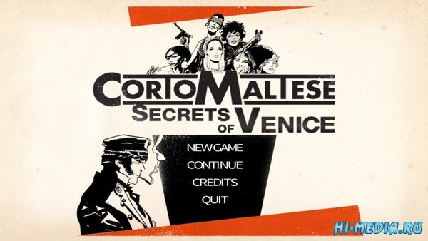 Corto Maltese: Secrets of Venice (2014) ENG