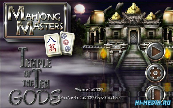 Mahjong Masters: Temple of the Ten Gods (2017) ENG