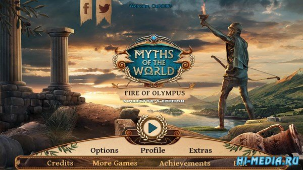 Myths Of The World 12: Fire Of Olympus Collectors Edition (2017) ENG