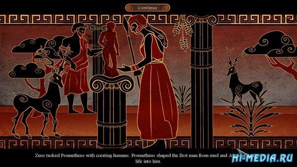 Мифы народов мира 12: Огонь Олимпа Коллекционное издание (2017) RUS