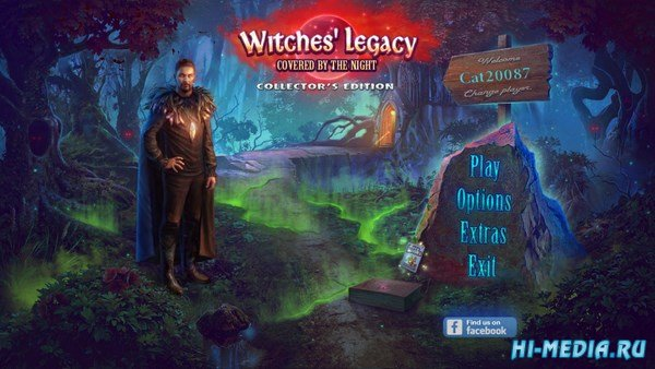 Witches Legacy 10: Covered By The Night Collectors Edition (2017) ENG