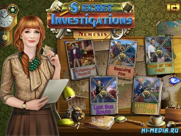 Secret Investigations 2: Nemesis (2017) RUS