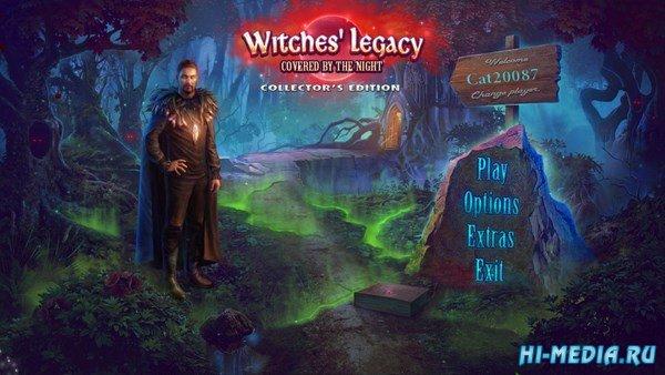Наследие ведьм 10: Скрытые в ночи Коллекционное издание (2017) RUS