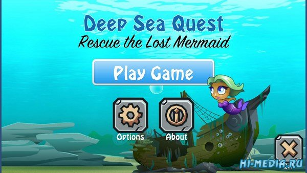 Deep Sea Quest: Rescue the Lost Mermaid (2017) ENG