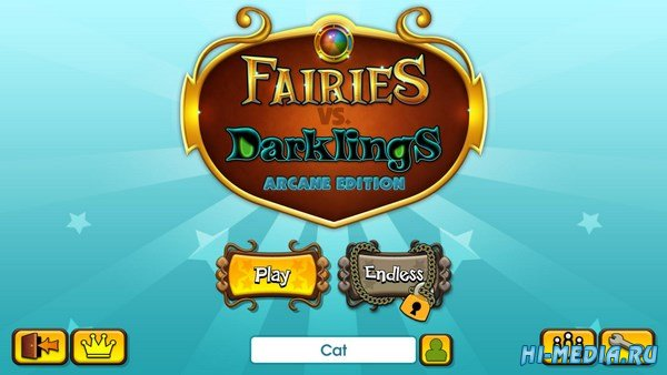 Fairies vs. Darklings: Arcane Edition (2016) ENG