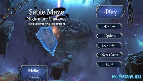 Sable Maze 7: Nightmare Shadows Collectors Edition (2017) ENG