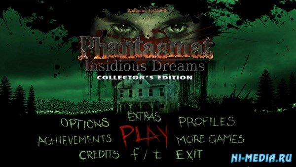 Phantasmat 9: Insidious Dreams Collectors Edition (2017) ENG