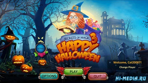 Secrets of Magic 3: Happy Halloween (2017) ENG