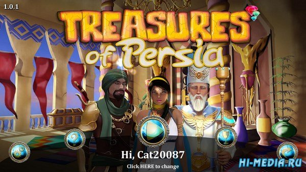 Treasures of Persia (2017) ENG