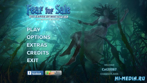 Fear For Sale 11: The Curse of Whitefall Collectors Edition (2017) ENG