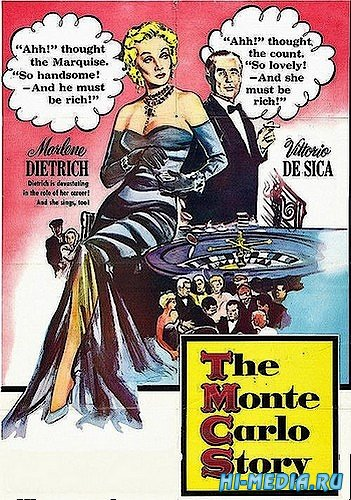 История в Монте-Карло / Montecarlo (1956) DVDRip