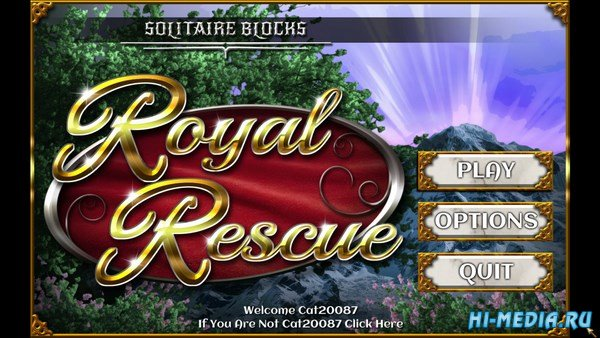 Solitaire Blocks: Royal Rescue (2017) ENG