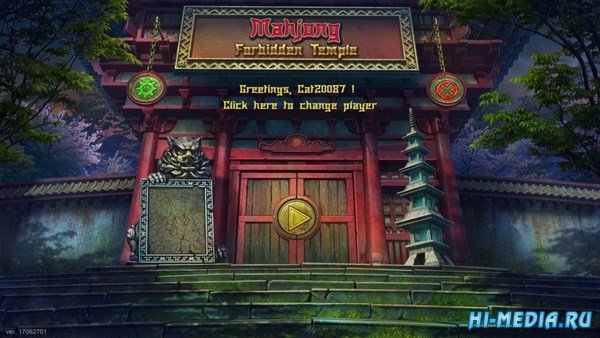 Mahjong Forbidden Temple (2017) ENG