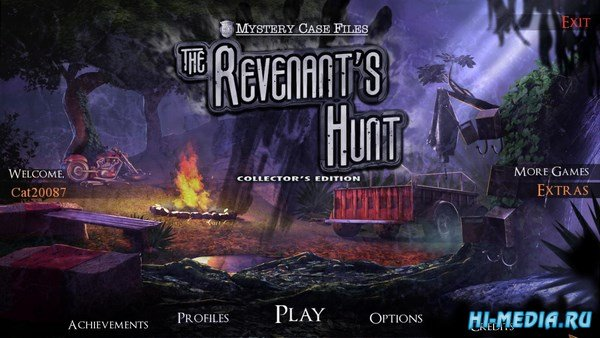Mystery Case Files 16: The Revenants Hunt Collectors Edition (2017) ENG