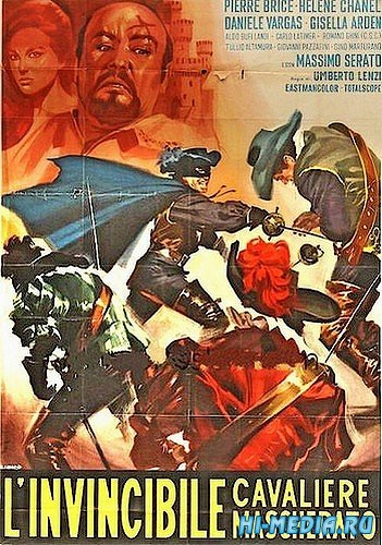 Непобедимый всадник в маске / L'invincibile cavaliere mascherato (1963) DVDRip
