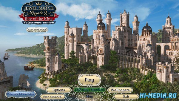 Jewel Match Royale 2: Rise of the King Collectors Edition (2017) ENG