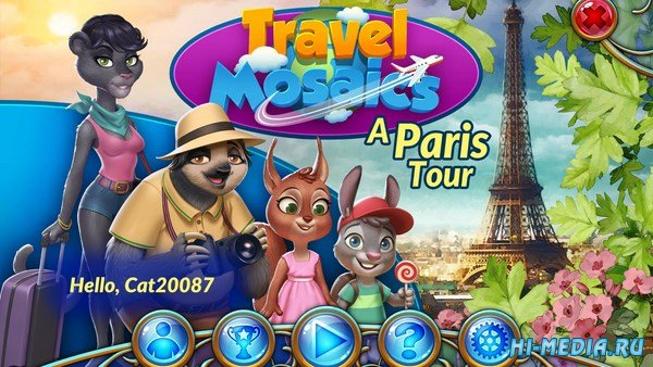 Travel Mosaics: A Paris Tour (2017) RUS