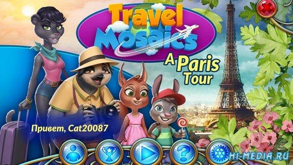 Travel Mosaics: A Paris Tour (2017) RUS