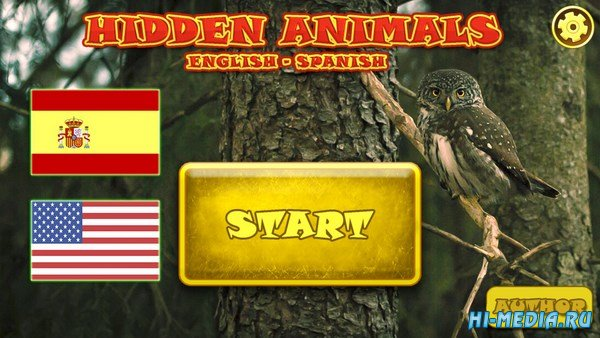 Hidden Animals: English-Spanish (2017) ENG
