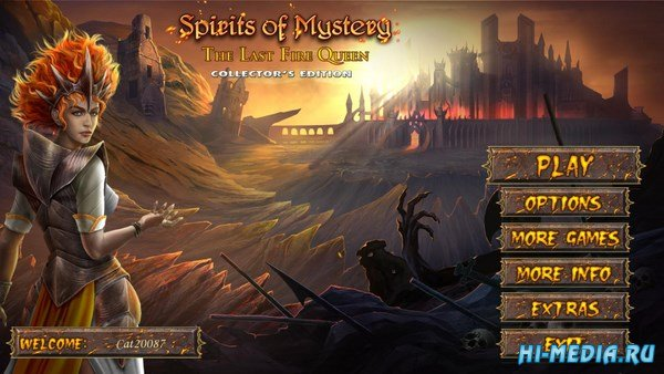Spirits of Mystery 10: The Last Fire Queen Collectors Edition (2018) ENG