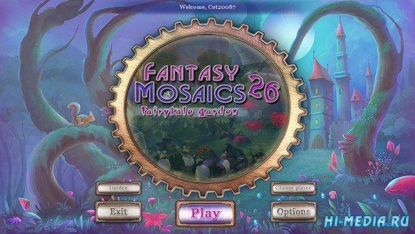 Fantasy Mosaics 26: Fairytale Garden (2018) ENG