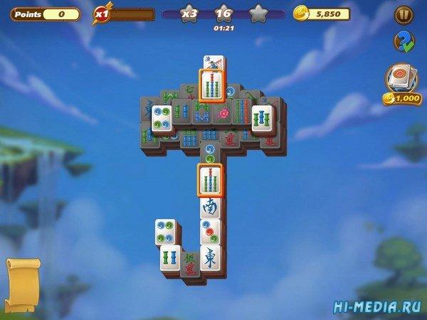 Mahjong Magic Islands (2017) ENG