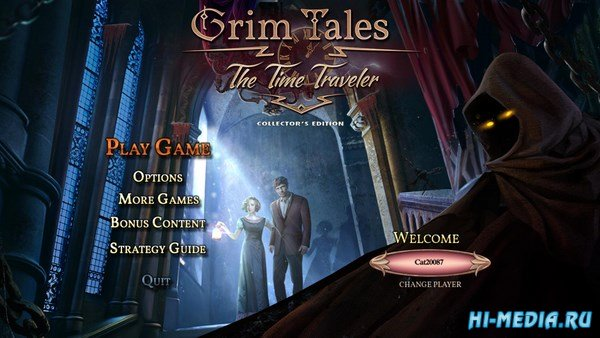 Grim Tales 14: The Time Traveler Collectors Edition (2018) ENG