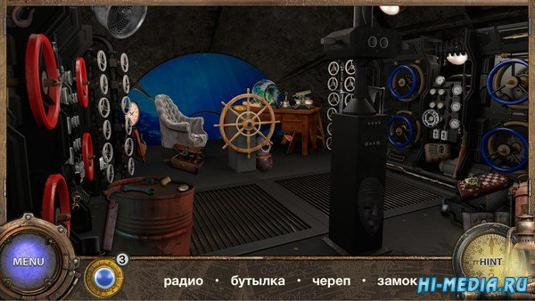 Hidden Object Adventure: Капитан Немо (2018) RUS