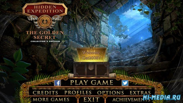 Hidden Expedition 16: The Golden Secret Collectors Edition (2018) ENG