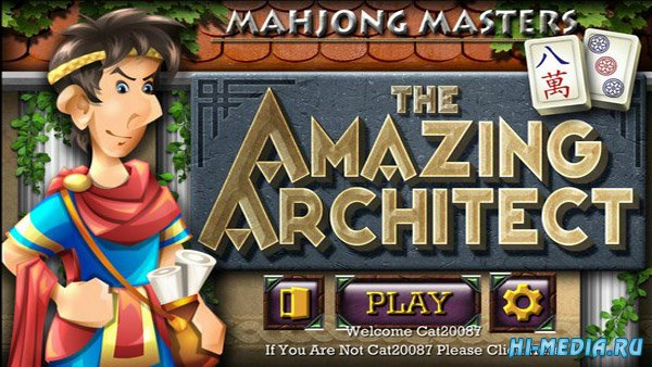 Mahjong Masters: The Amazing Architect (2018) ENG