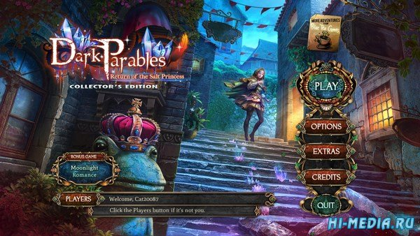 Dark Parables 14: Return of the Salt Princess Collectors Edition (2018) ENG