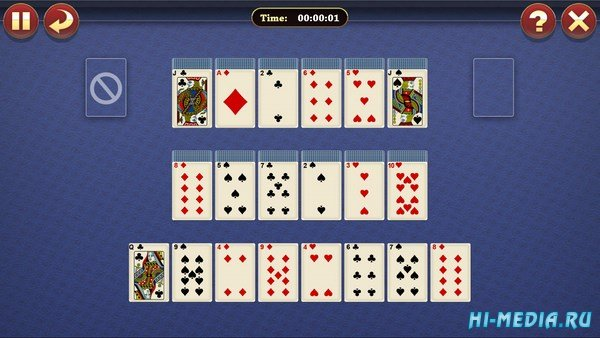 Lucky Pyramid Solitaire (2018) ENG