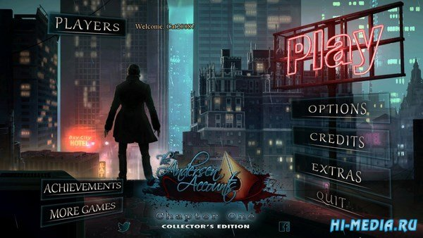 The Andersen Accounts: Chapter One Collector's Edition (2018) ENG